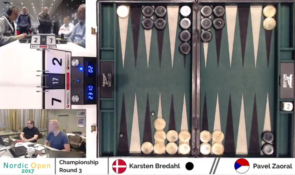 backgammon nordic open 2017