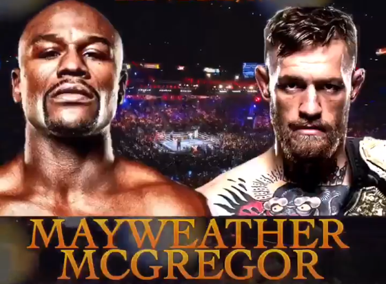 floyd mayweather v Conor 'The Notorious' McGregor